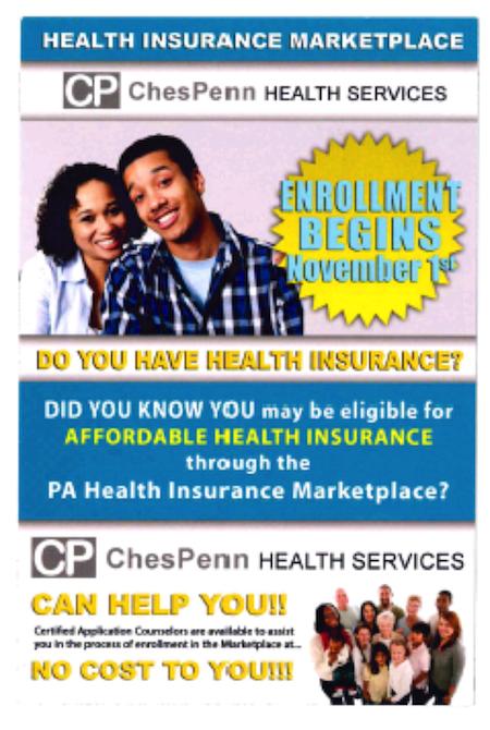 ChesPenn enrollment